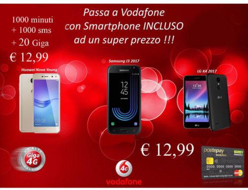 Passa a Vodafone – smartphone incluso